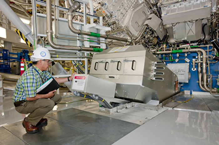 Magnetic Recoil Spectrometer in the NIF Target Bay