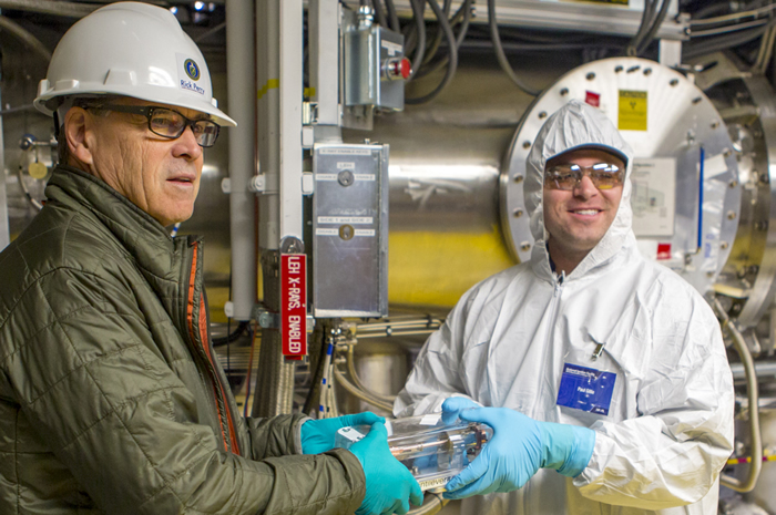 Energy Secretary Perry Tours NIF
