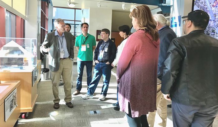 Science Journalists Tour NIF