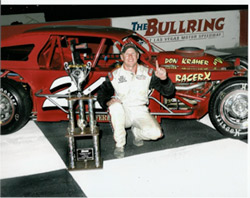 Scott with 1st place trophy at the Bullring in Las Vegas