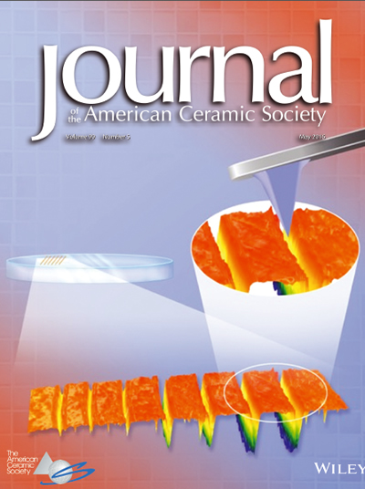 Cover of the Journal of the American Ceramic Society