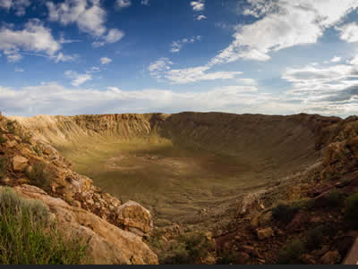 Photo of the Barringer Crater