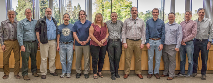 Researchers on the EUV Team