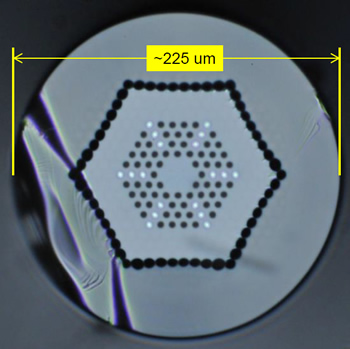 Image of Neodymium-Doped Fiber Laser