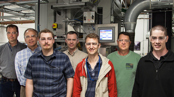 Members of the LLNL Fiber Laser Team