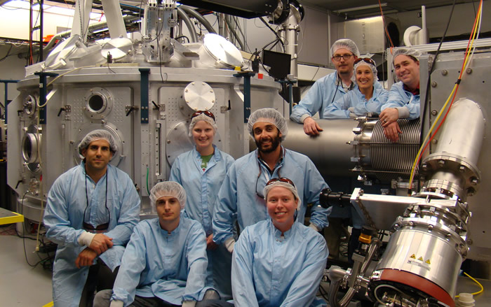 Felicie Albert and the Betatron Team at the Jupiter Laser Facility