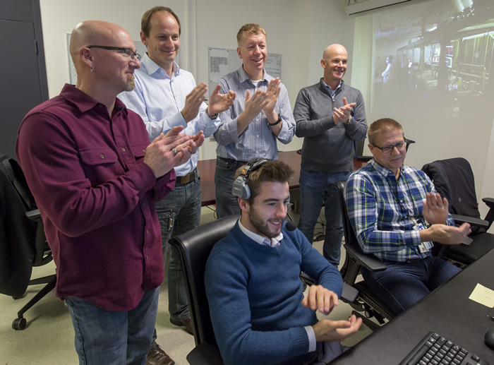 HAPLS Team Members Applaud Success