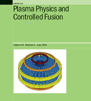 Plasma Physics and Controlled Fusion Cover