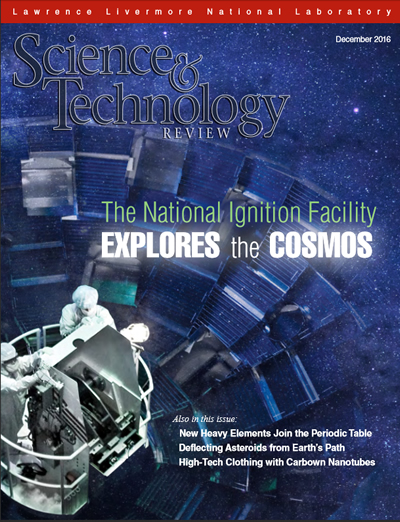 Science & Technology Review Cover