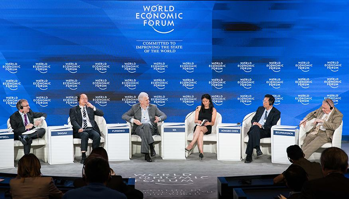 Tammy Ma at the World Economic Forum