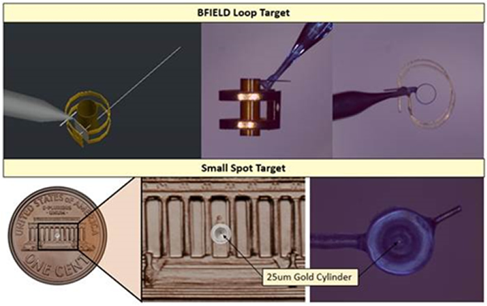 Images of BFIELD and Small Spot Targets
