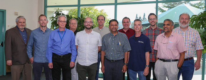 Members of the Cryogenic Layer Capability Team