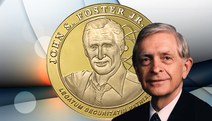 John Nuckolls and the John S. Foster Jr. Medal