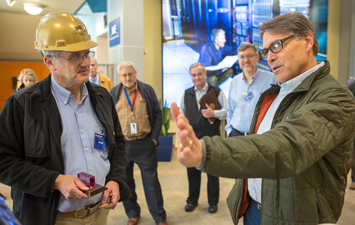 Energy Secretary Perry Discusses NIF with Jeff Wisoff