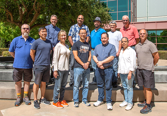 Team photo of the NIF Controls Software Modernization team