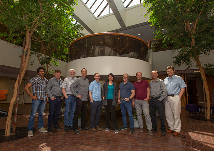 Photo of the Enhanced Energy Coupling Team