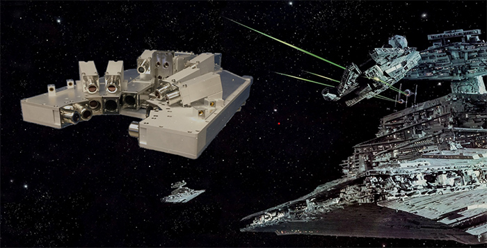 The STAR Array Battles an Imperial Star Destroyer