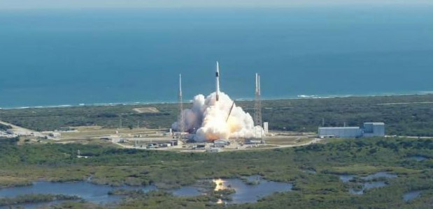 The MiniCarb CubeSat is Launched from Cape Canaveral