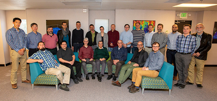Group photo of attendees at the NIF and JLF User Group Meeting