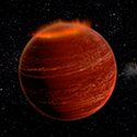 Graphic of brown dwarf