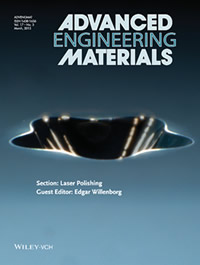 Advanced Engineering Materials Cover