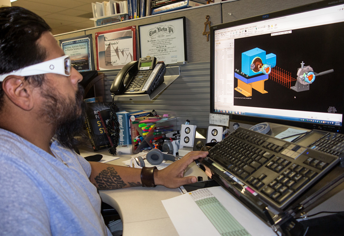 Target Designer Works on Metrology System