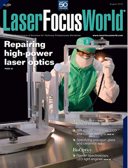 Laser Focus World Cover