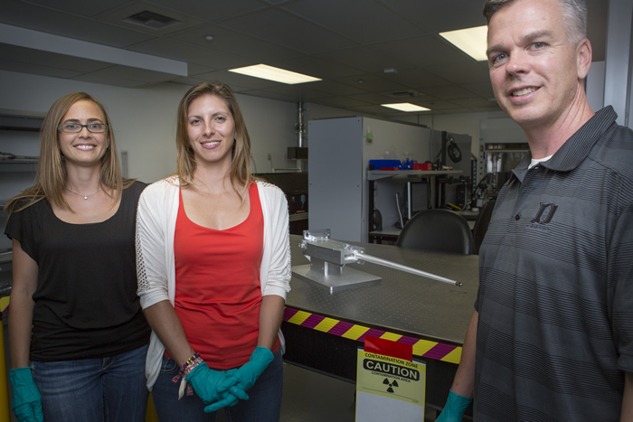 NXS Team Members with a NIF X-ray Spectrometer