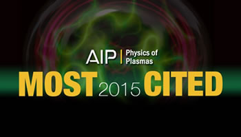 Physics of Plasmas Most-Cited Logo