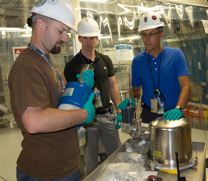 Technicians Work on Cryo Pumps