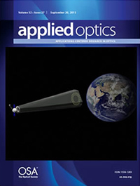 Applied Optics Cover