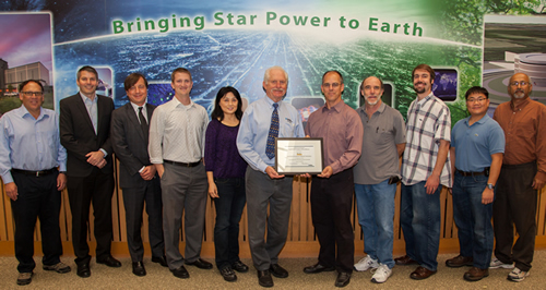 Lab Systems Team Receives Award
