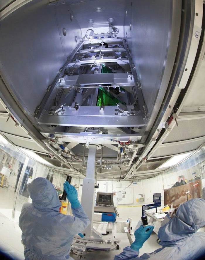 Technicians Install ARC Transport Mirrors