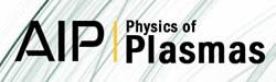 Physics of Plasmas Logo