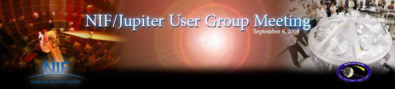 NIF/Jupiter User Group Meeting